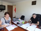 Information meeting with Gia Santeladze – head of Imereti IDP